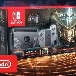 海外で「Diablo III: Eternal Collection」デザインのニンテンドースイッチが登場