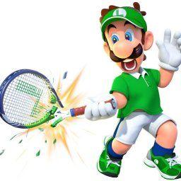 「マリオテニス エース」ルイージの股間のサイズをラケットから推測する海外ファン!