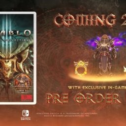 Switch『Diablo III Eternal Collection」』正式発表!ゼルダとのコラボアイテムも用意