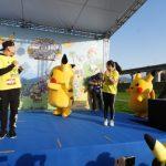 【悲報】「ピカチュウのきぐるみ」、台湾イベントのステージ上でやらかしてしまう…(※画像あり)