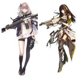 【ドルフロ】AR-15とM4A1の性能はどう? 可愛いから育ててみたい