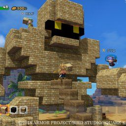【ドラクエビルダーズ2】公式ゴーレム像のブロック位置おかしくね…?