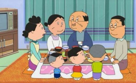 おまえらの理想の家族って「のび家」「磯野家」「桜家」「野原家」どれなの?