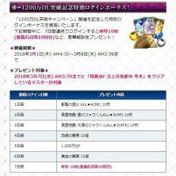 【FGO】「星4鯖配布→聖晶石30個→ 」すまん、今回の1200万DLでは何が貰えるんだ?