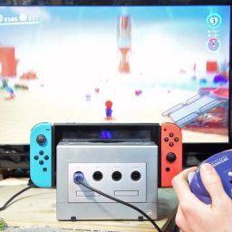 【動画】ゲームキューブをニンテンドースイッチドックに改造!
