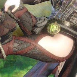 【MHW】ガロン装備(防具)の「足」とかいう究極のエロ【画像】