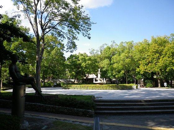 大倉山 広場