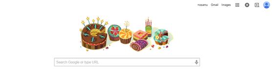 google バースディ