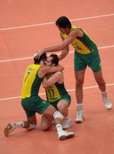 ブラジル喜び