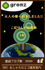 大人の木(大気圏離脱)