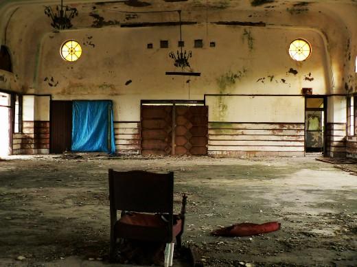 ホールの中5