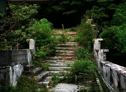 階段振り返り