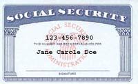 アメリカ社会保障番号Social_Security_card