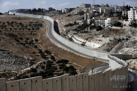 ヨルダン川西岸壁2