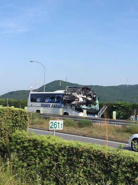 東名高速 観光バス22
