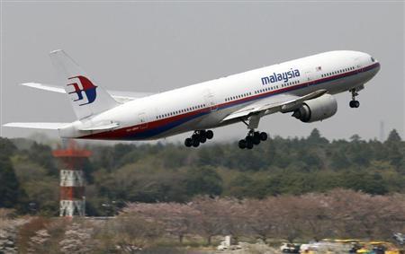マレーシア航空機01