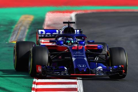 トロロッソホンダ・スペインGP・FR2