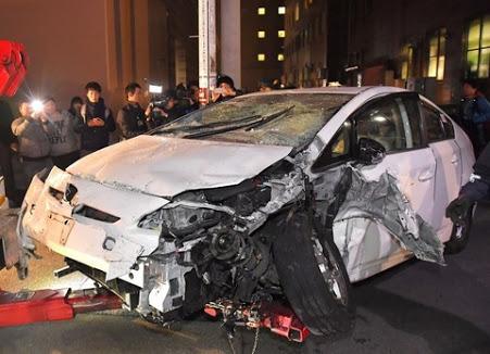 福岡タクシー暴走事故1