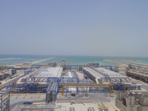 カタール淡水化設備