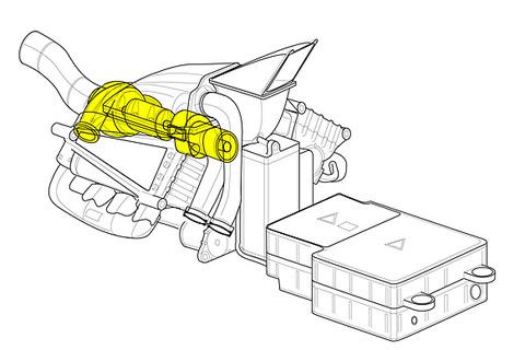 マクラーレンホンダ軸流タービン11