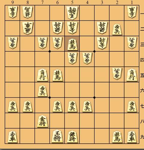 藤井増田5三桂打ち