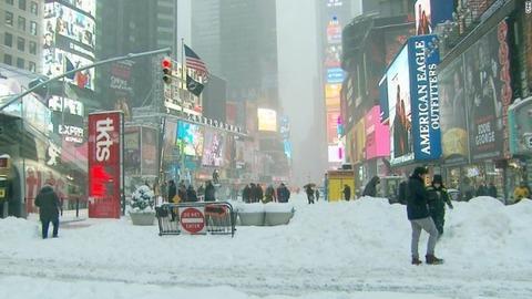 ニューヨーク大雪