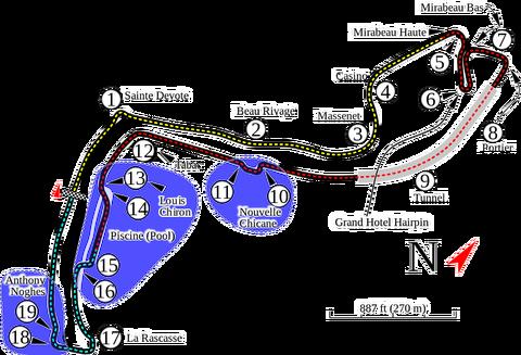 モンテカルロ市街地コース