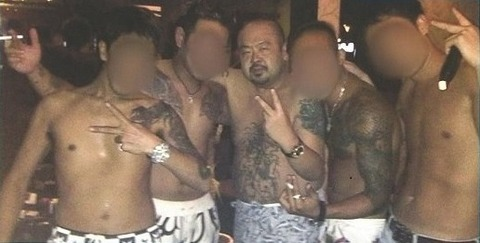 金正男刺青4