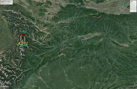 九寨溝地震MAP