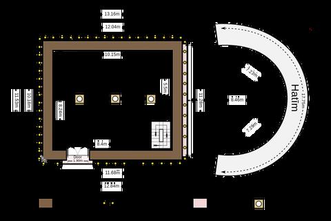 カーバ神殿寸法