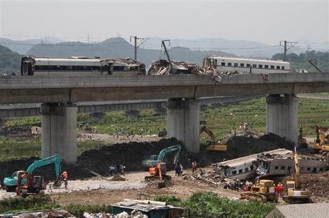 温州新幹線事故