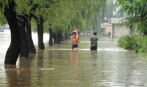 北朝鮮2016洪水