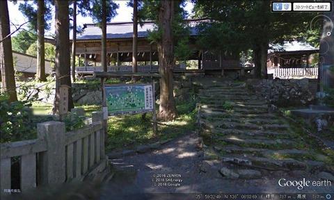 諏訪神社前宮の幕屋