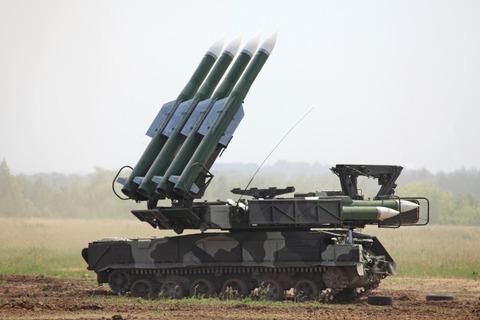 ロシア製ミサイルBUK
