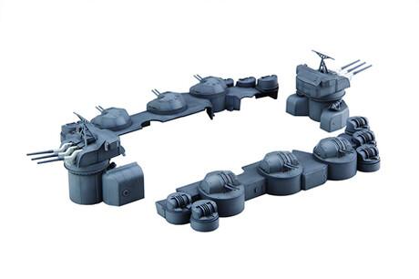 フジミ模型大和中央構造外部