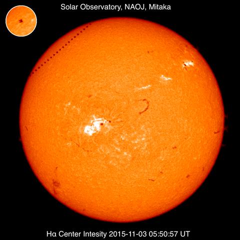 太陽黒点20151103