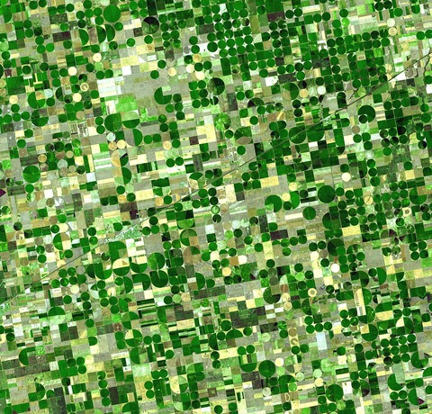 オガララ帯水層灌漑カンザス州