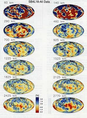 地震波トモグラフィー