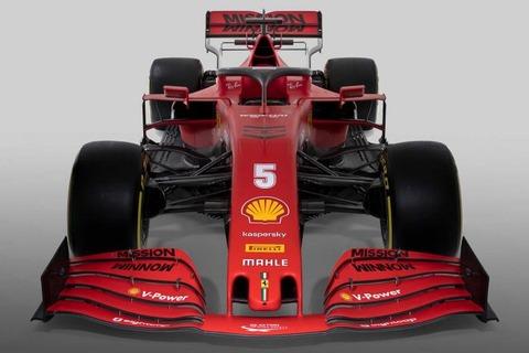 フェラーリSF1000