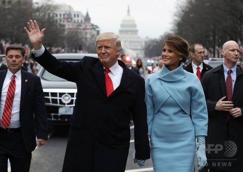 トランプ大統領就任パレード