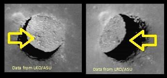 月面の竪穴5