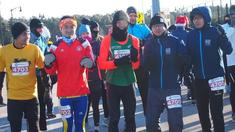 川内優輝極寒マラソン1