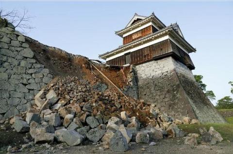 熊本大地震熊本城
