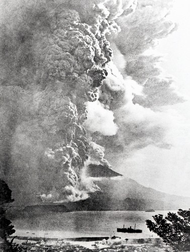 桜島対象大爆発