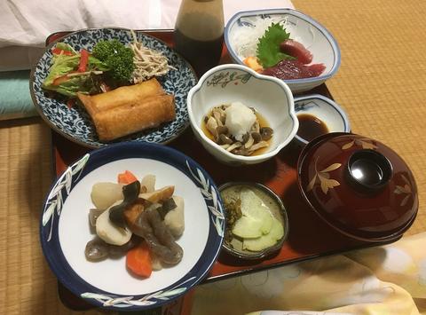 母畑元湯夕食2