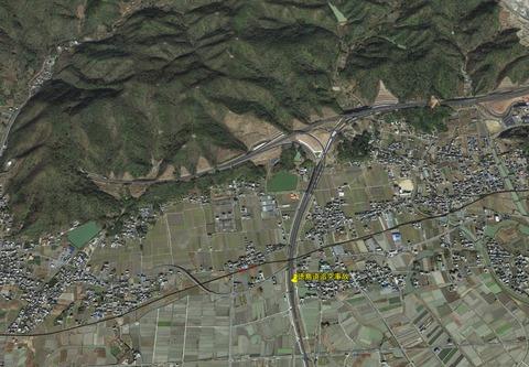 徳島道追突事故1