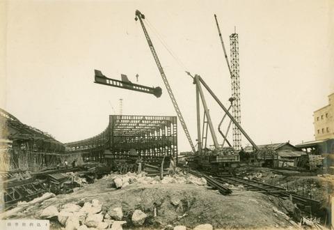 築地市場建設中2