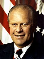 フォード大統領Gerald_Ford,_official_Presidential_photo