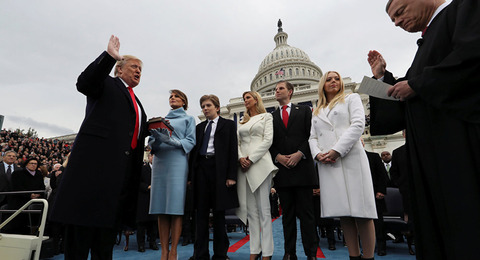 トランプ大統領宣誓式