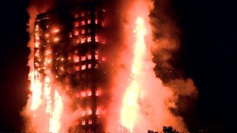 ロンドン高層アパート大火災8